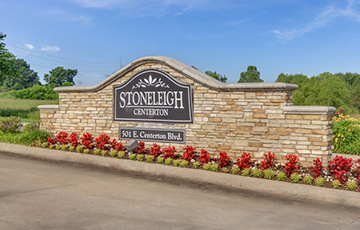Community ammenities are unparalleled at Stoneleigh Centerton.
